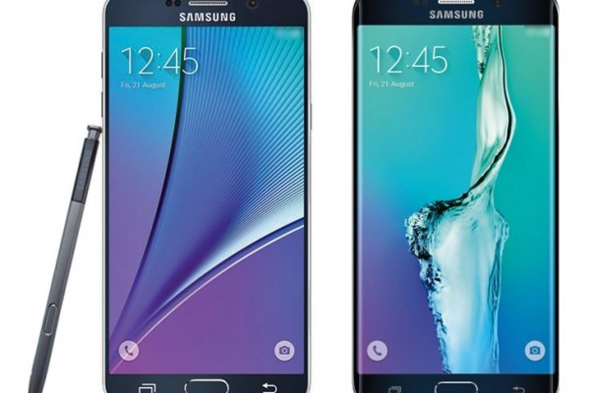 تصاویر رسمی گلکسی Note 5 و گلکسی S6 Edge Plus منتشر شدند