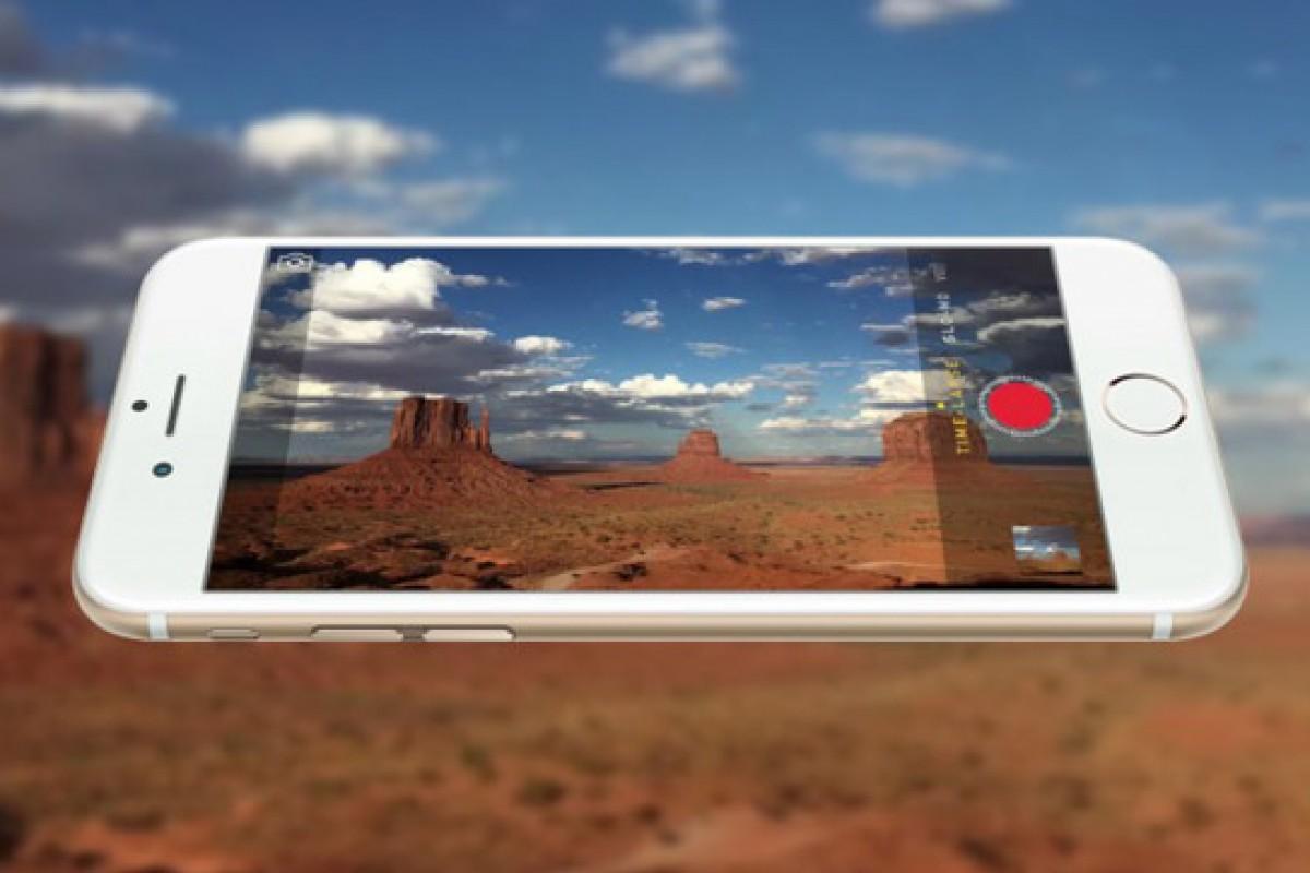 شایعه: آیفون 6S یک دوربین 12 مگاپیسکلی با قابلیت فیلم برداری 4K خواهد داشت