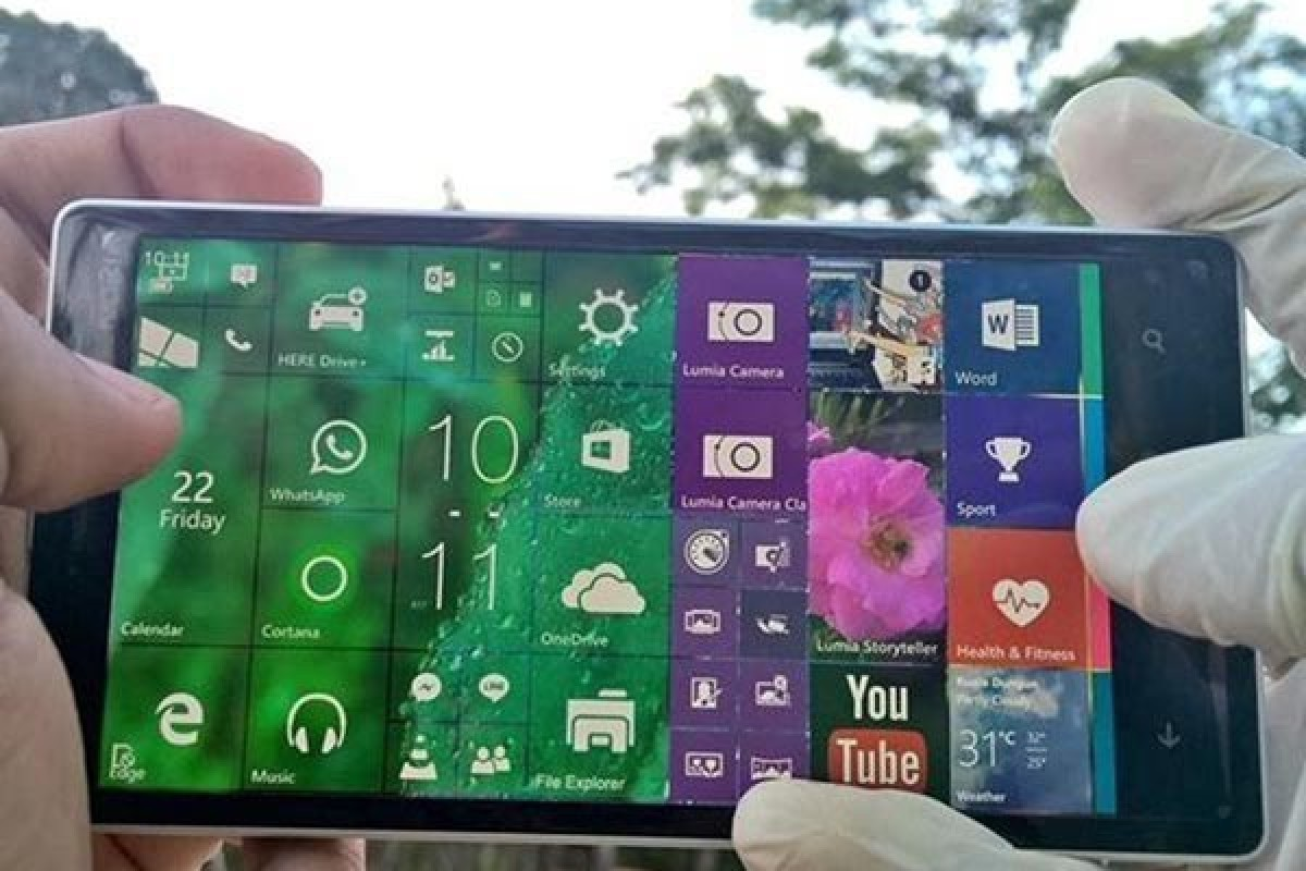 Gabe Aul: اگر حالت Landscape را در ویندوز 10 موبایل میخواهید به آن رای دهید