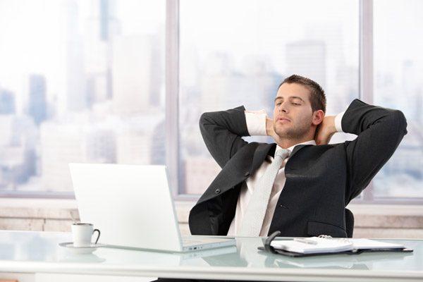man-stretching-at-work