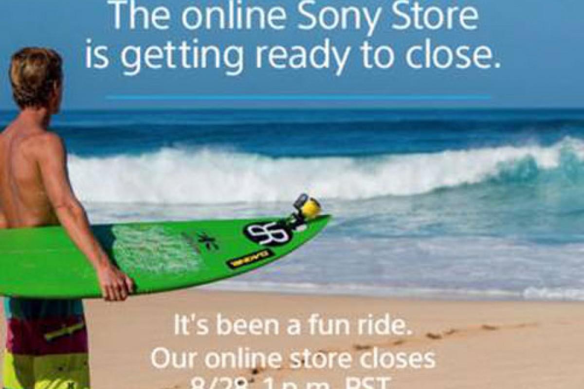 6 شهریور فروشگاه آنلاین سونی غیرفعال خواهد شد!