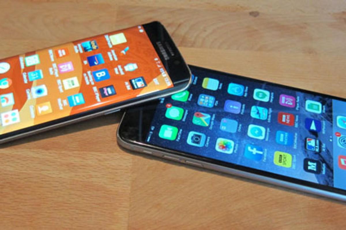 ۶ دلیل برای آنکه بدانیم گلکسی S6 نسبت به آیفون ۶s برتر است