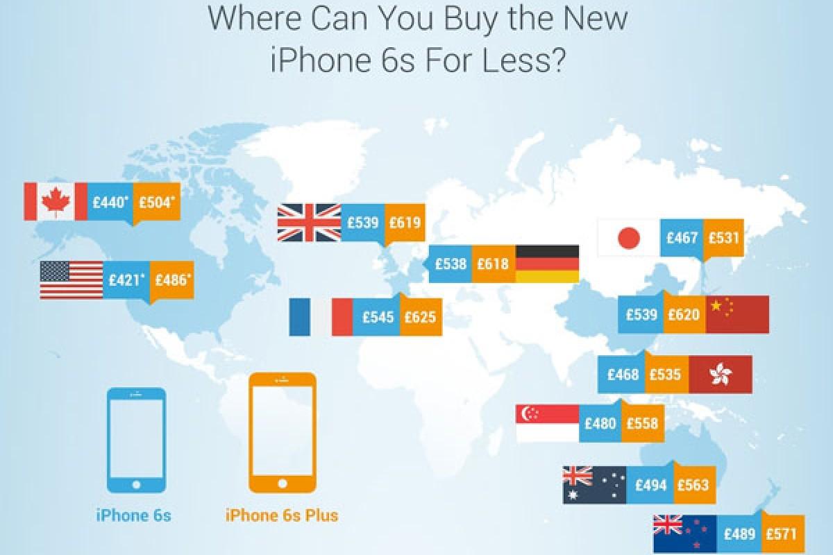 آیفونهای جدید در آمریکا ارزانترین و در فرانسه گرانترین هستند!