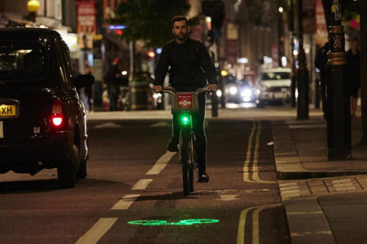 دوچرخههای لندن مجهز به سیستم لیزری میشوند!