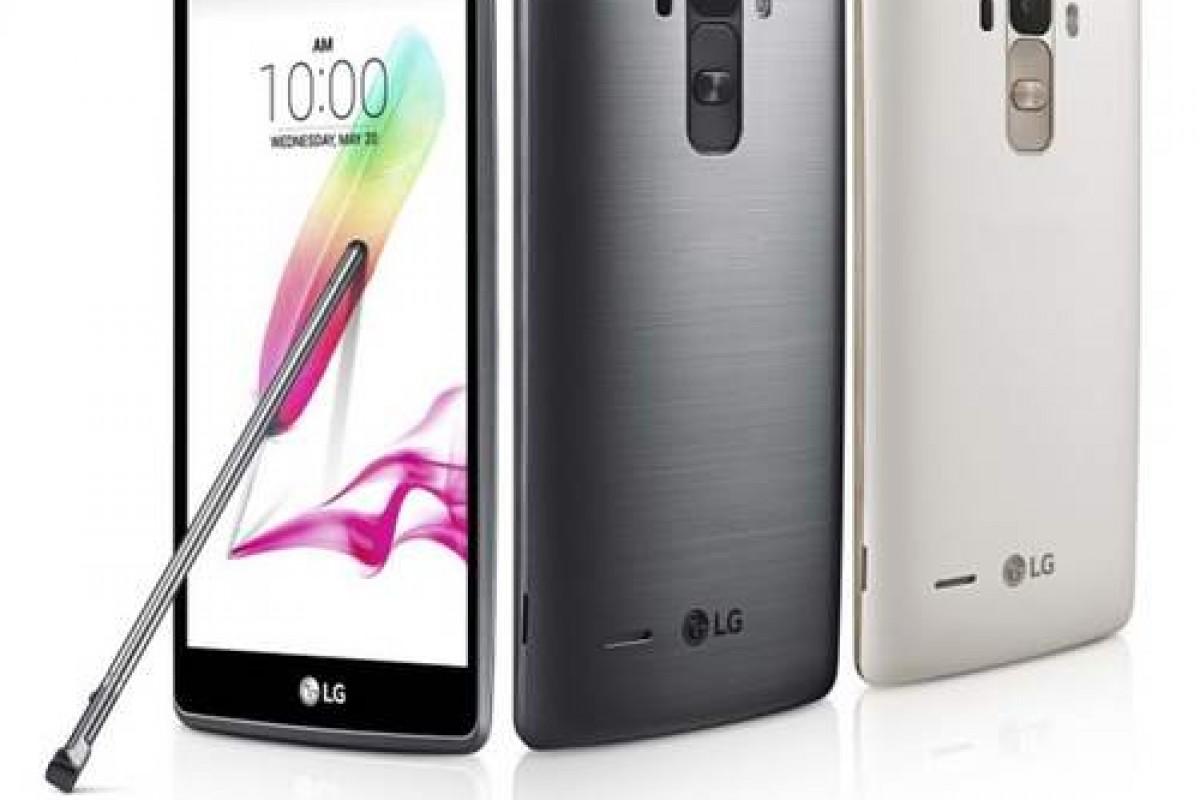 اسمارت فون جدید الجی با نام G4 Note در آمریکا ثبت شد