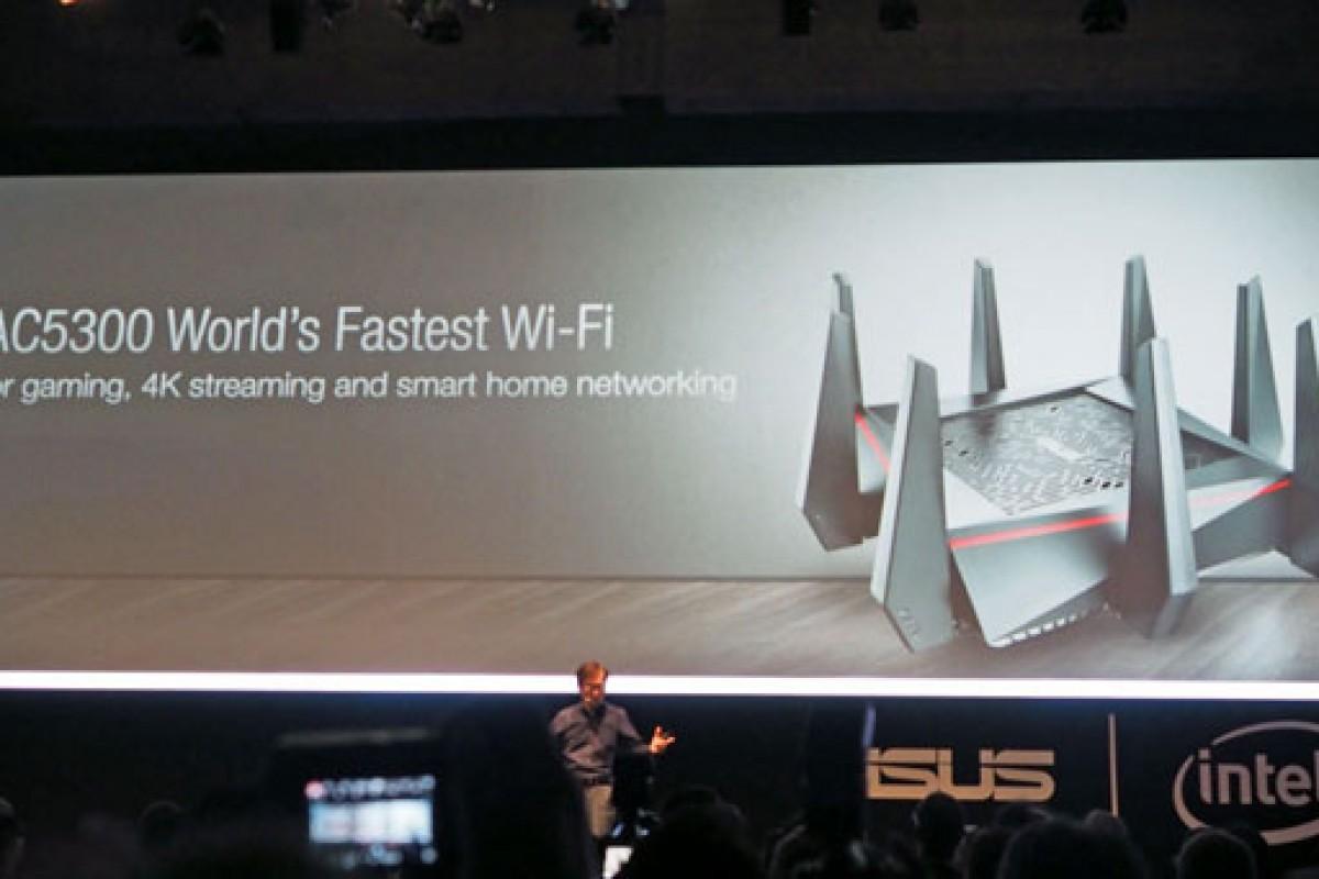 روتر وایرلس ایسوس RT-AC5300 با 8 آنتن معرفی شد