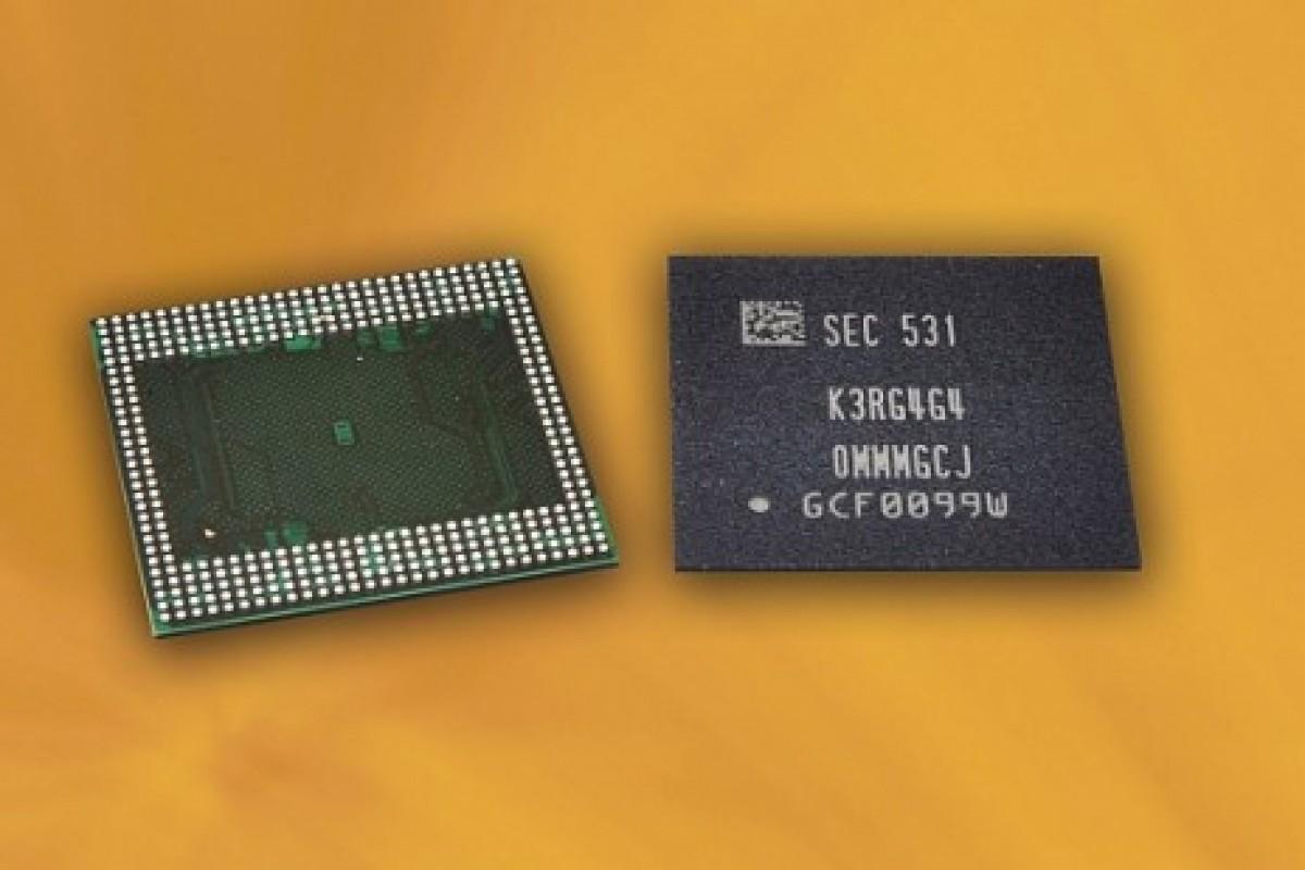 استفاده از رم 6 گیگابایتی در اسمارتفونها با فناوری نوین سامسونگ