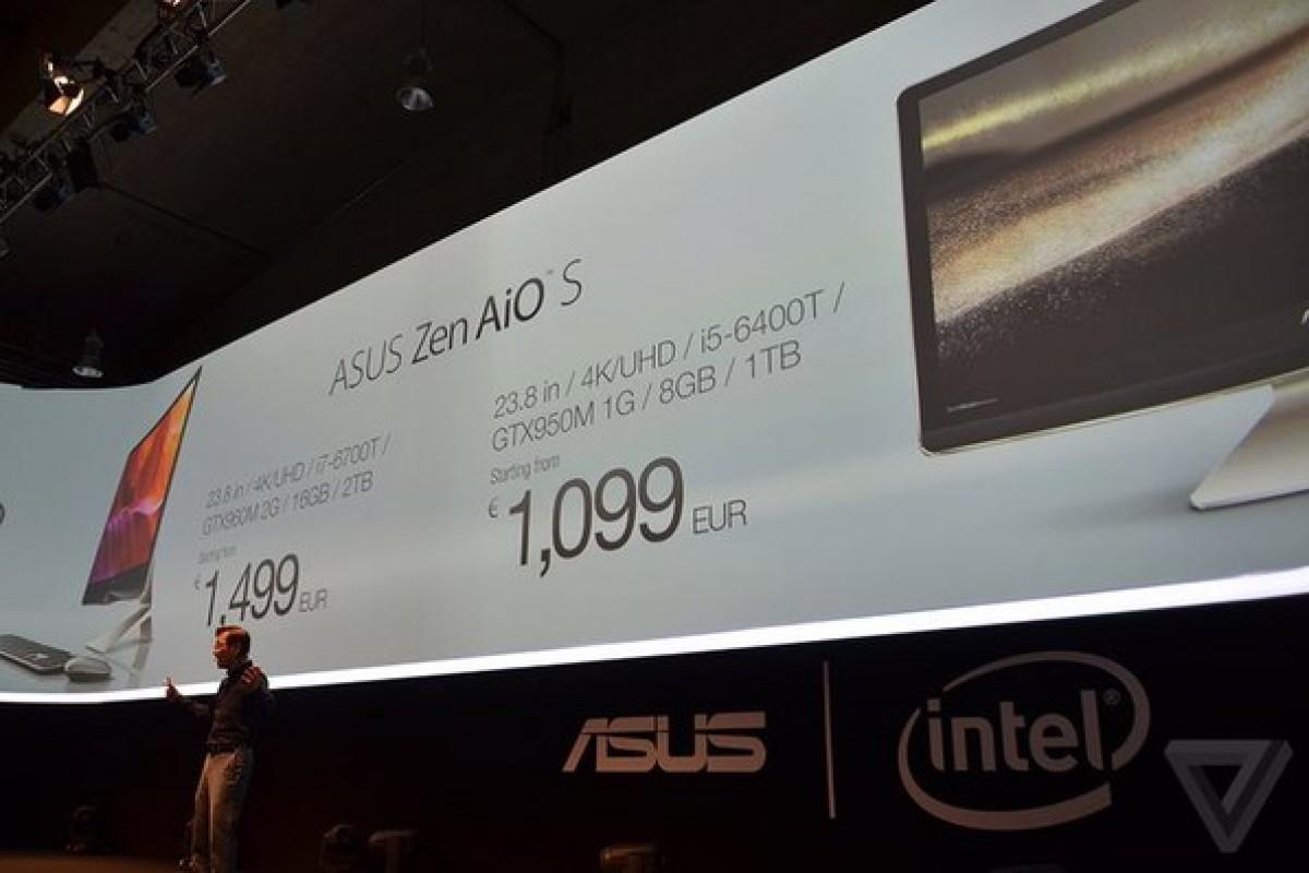 ایسوس Zen AiO S با قیمت 1099 یورو عرضه میشود