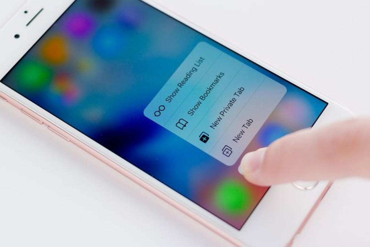 اپل پنج سال برای توسعه فناوری ۳D Touch کار کرده است!