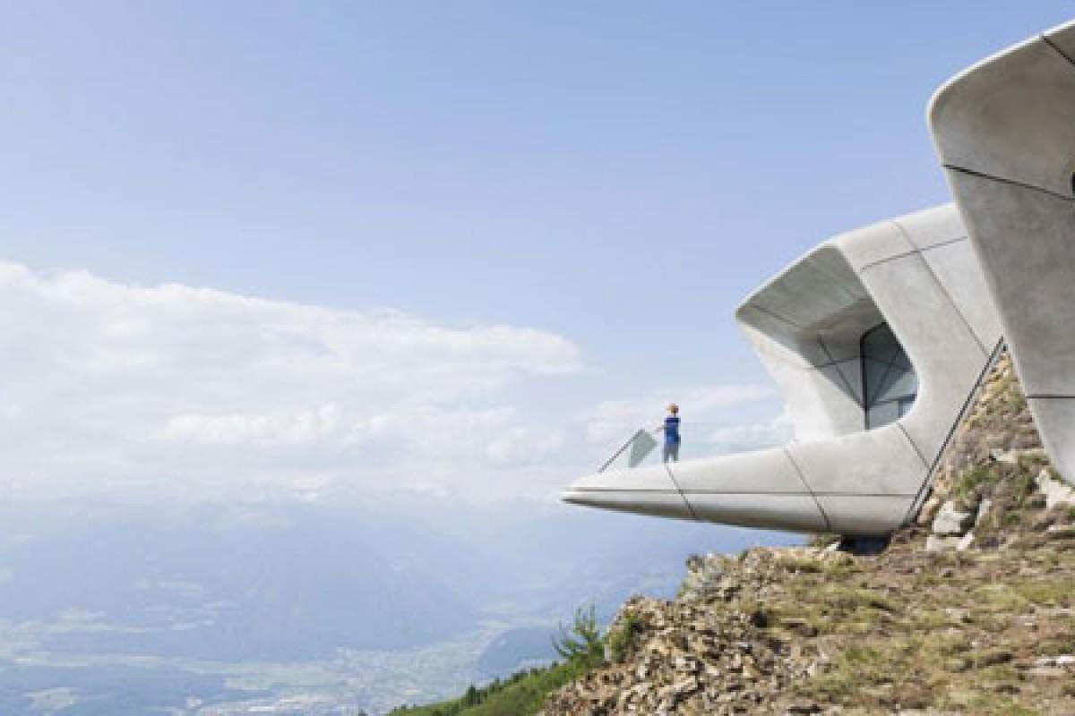 یک موزه خاص که در بالای کوه ساخته شده است!