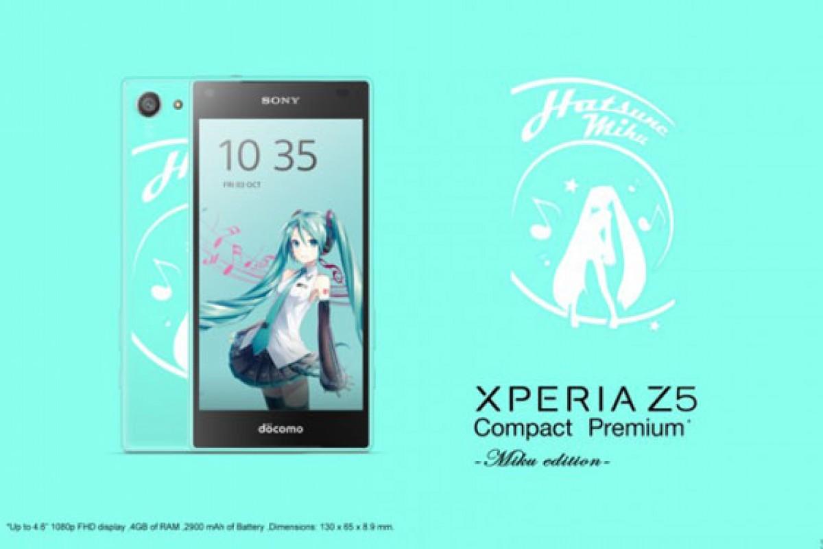 اکسپریا Z5 Compact Premium با نمایشگر Full HD برای ژاپن در راه است