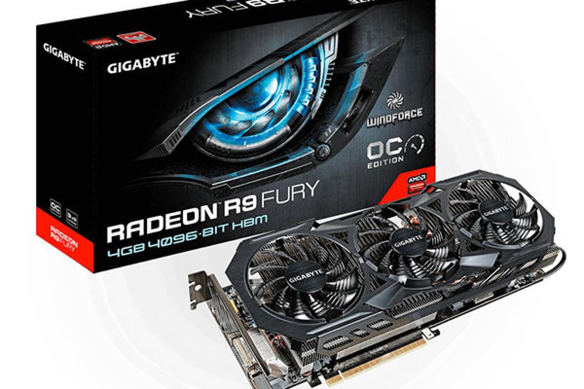 کارت گرافیک گیگابایت Radeon R9 Fury WindForce 3X با بهترین فناوری خنک کننده معرفی شد