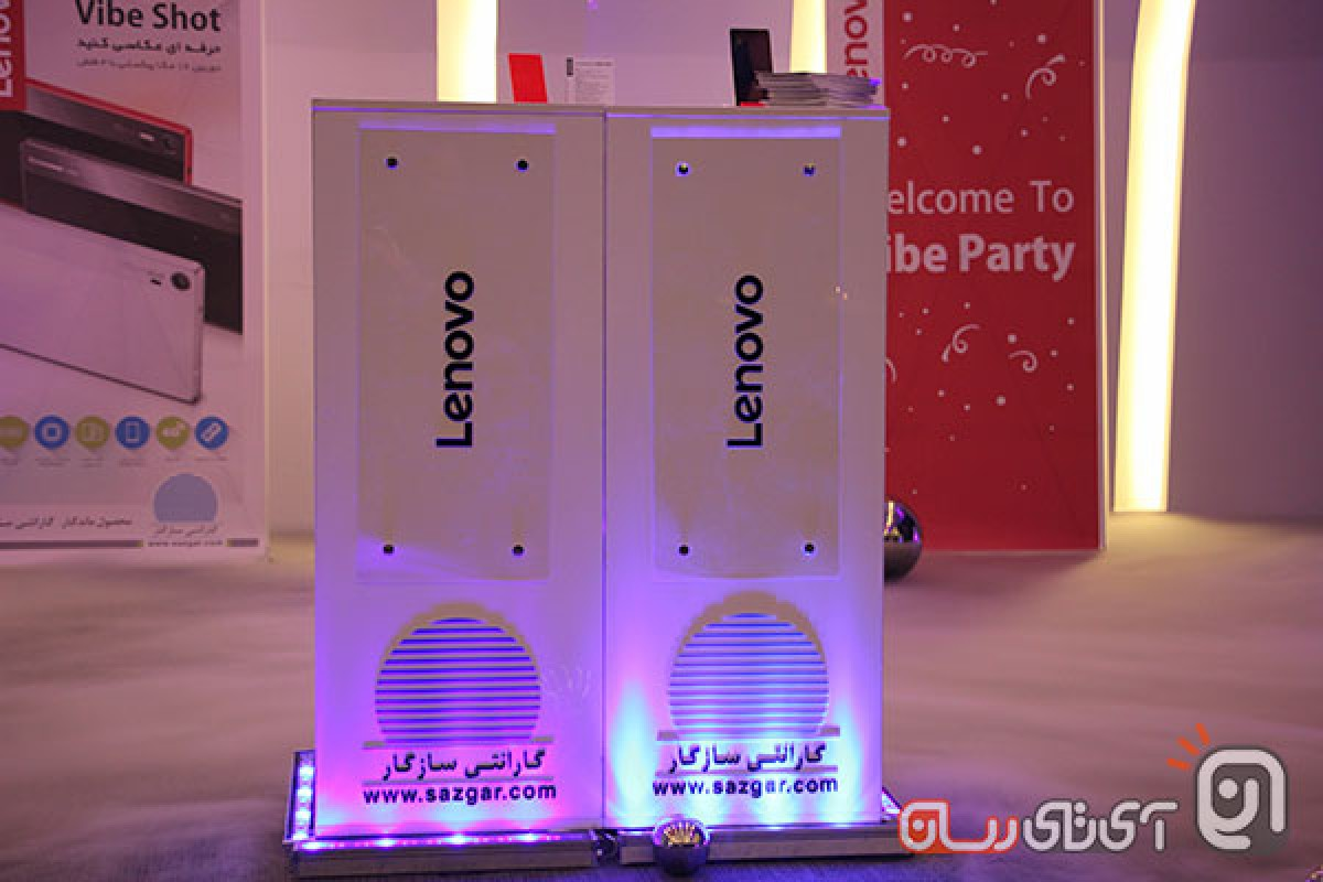 گوشی معروف لنوو با نام وایب شات به صورت رسمی وارد کشور شد