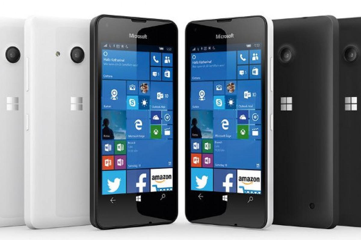 تلفن هوشمند ارزان قیمت مایکروسافت با نام لومیا 550 معرفی شد