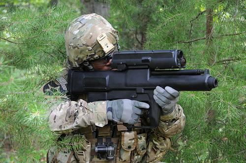 XM25-Smart Grenade Launcher