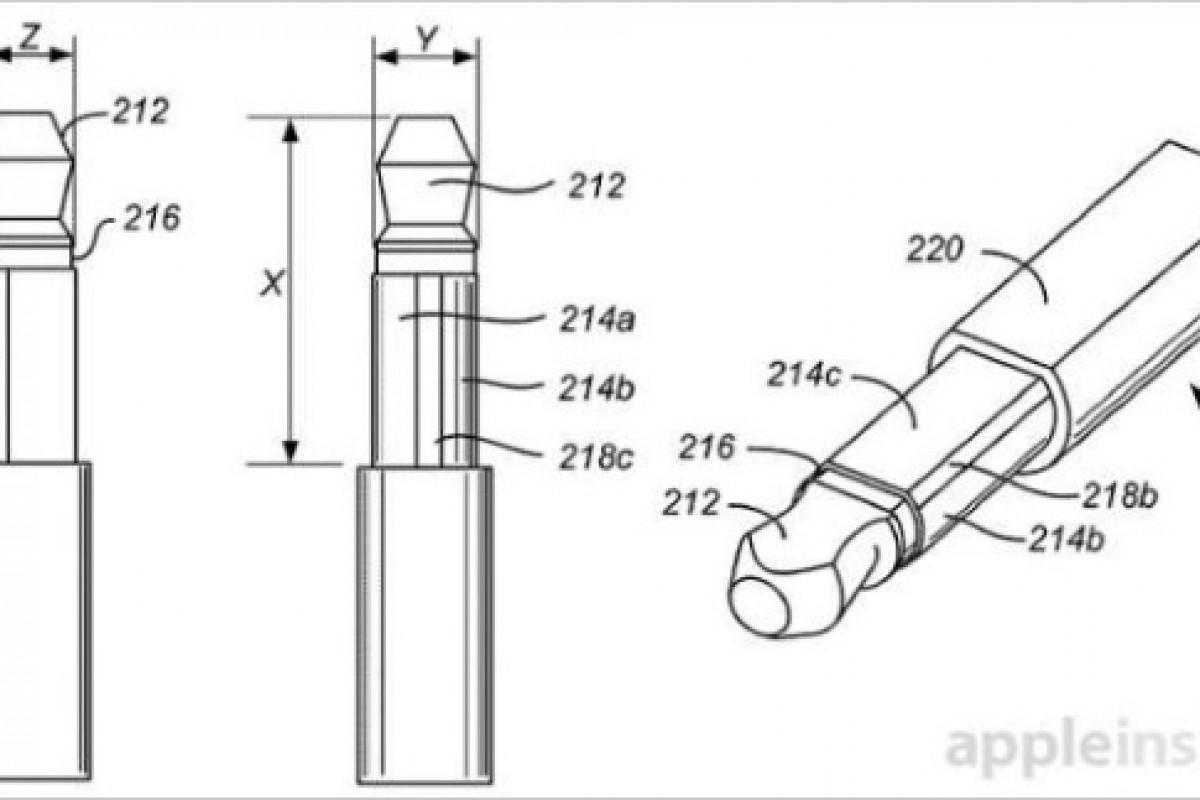 اپل پتنت جدیدی را برای کاهش سایز جک هدفون ثبت کرد