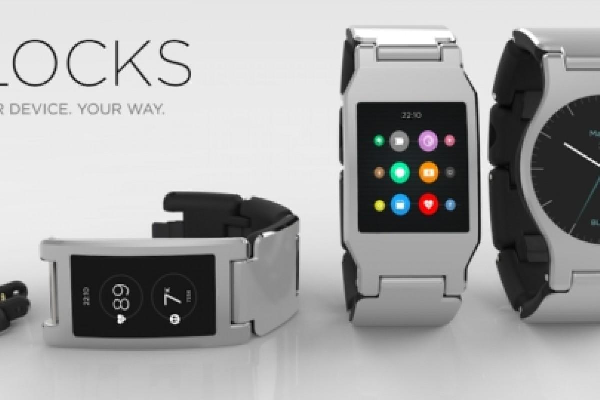 اولین ساعت هوشمند ماژولار جهان بهزودی رونمایی خواهد شد