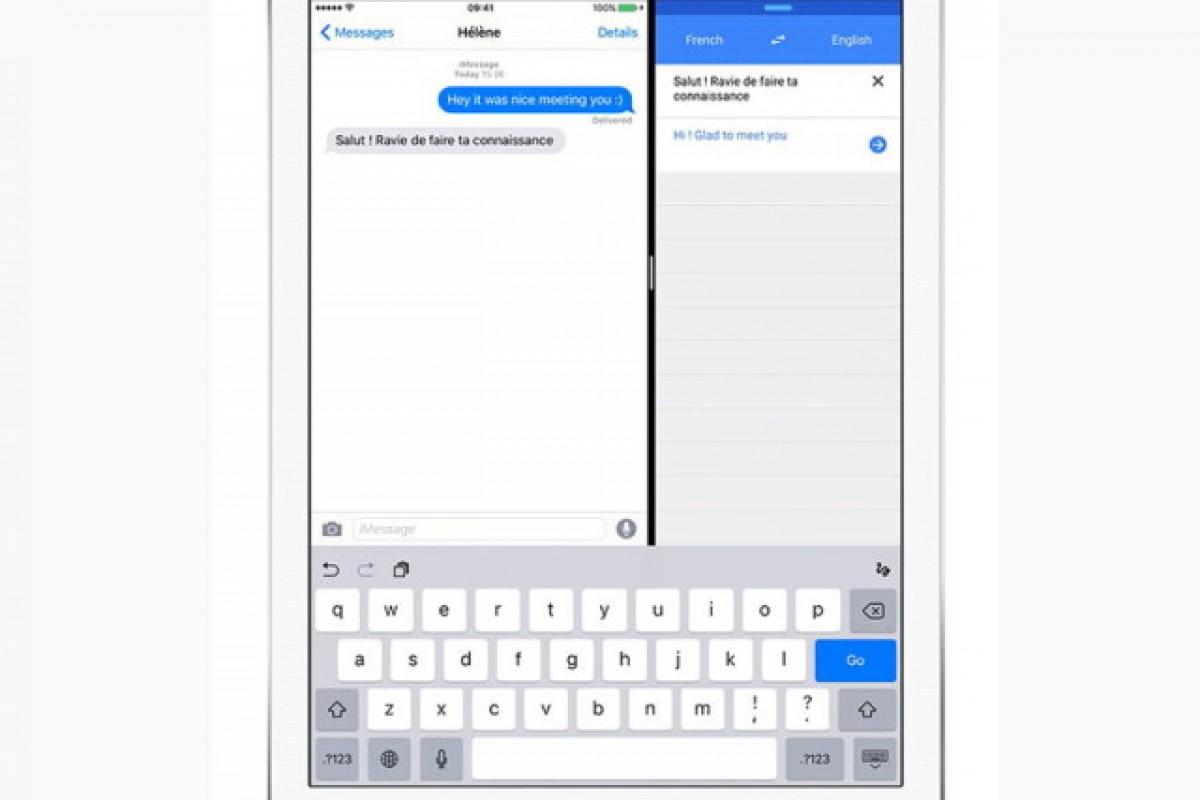 نسخه iOS برنامه مترجم  به Split View مجهز شد!