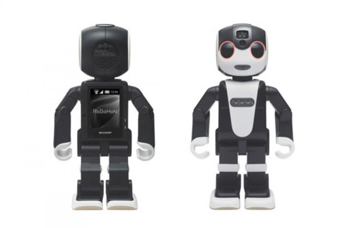شارپ و عرضه یک اسمارت فون رباتیک + ویدئو