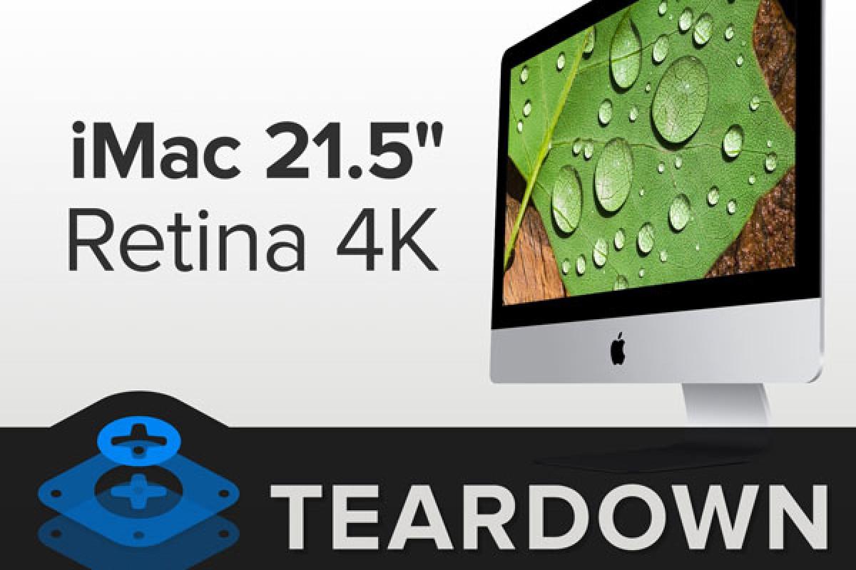 اپل iMac جدید با نمایشگر ۲۱.۵ اینچی کالبد شکافی شد!