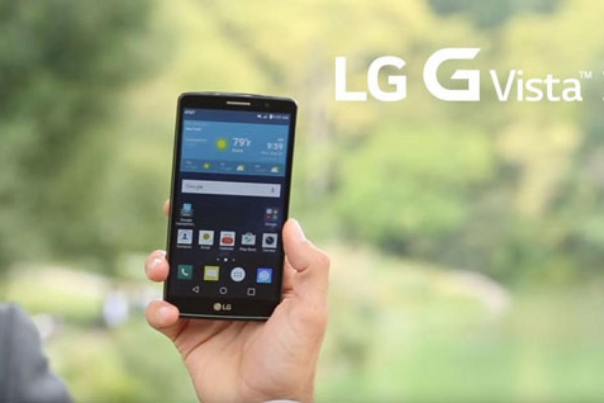 الجی G Vista 2 با سخت افزار قدرتمند و طراحی جدید معرفی شد