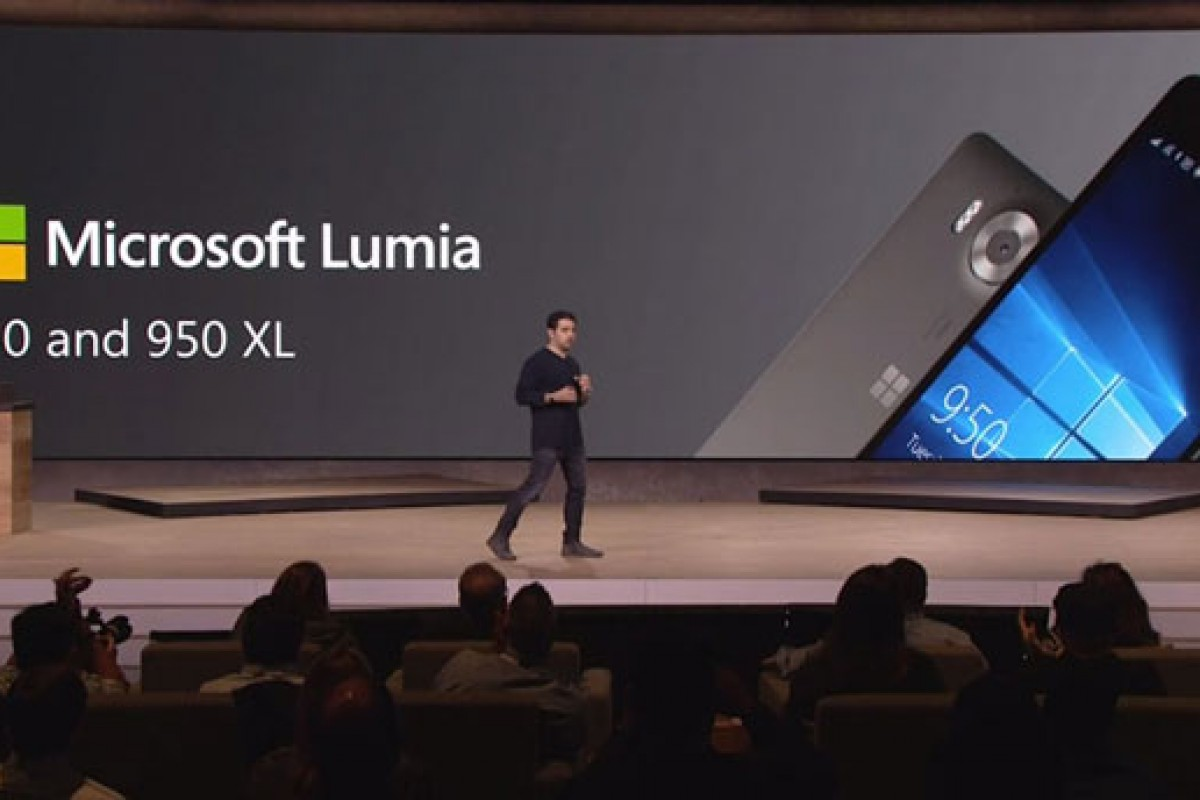 لومیا ۹۵۰ و لومیا ۹۵۰XL رسما معرفی شدند: دوربین قدرتمند به همراه اسکنر عنبیه چشم