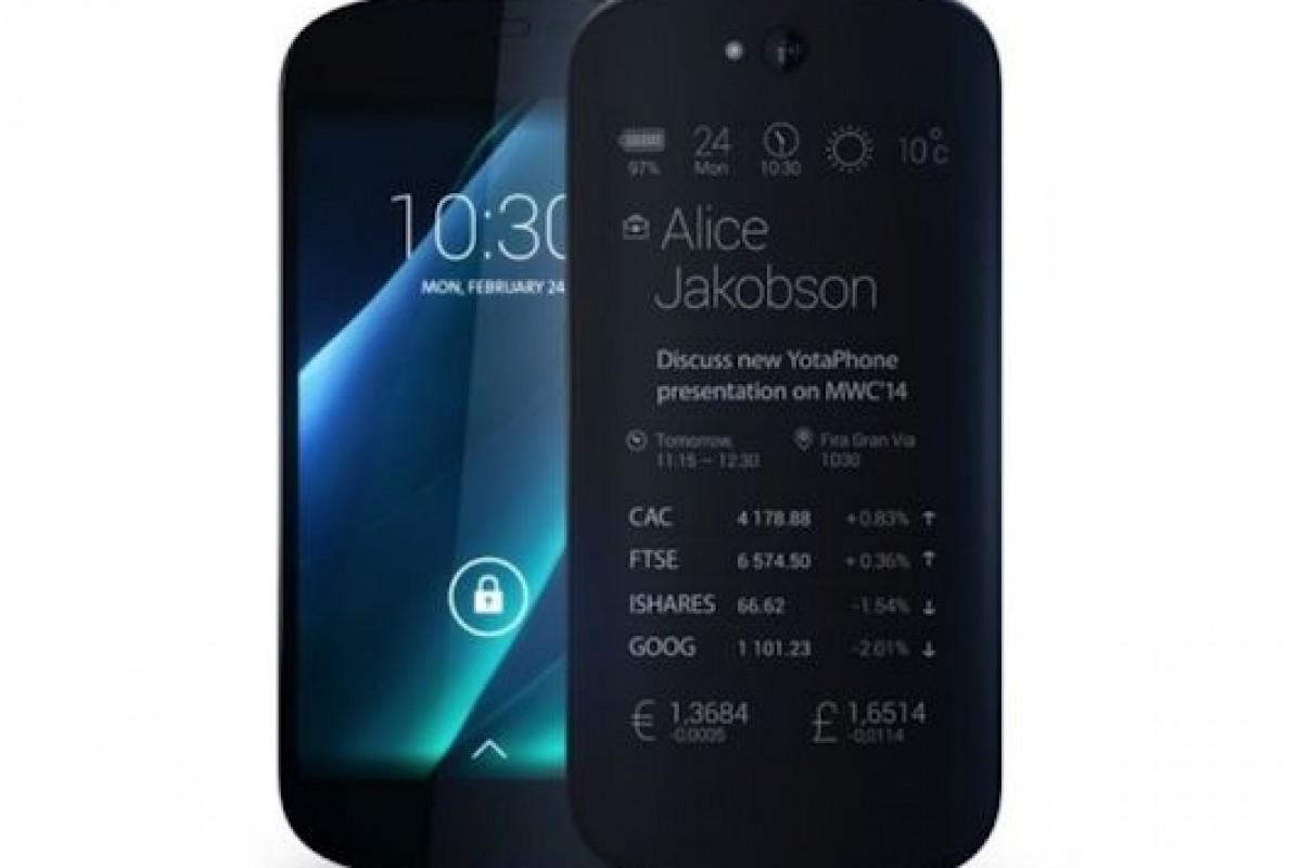 سازنده گوشی هوشمند با دو صفحه نمایش به دنبال کسب سرمایه برای ادامه فعالیت!