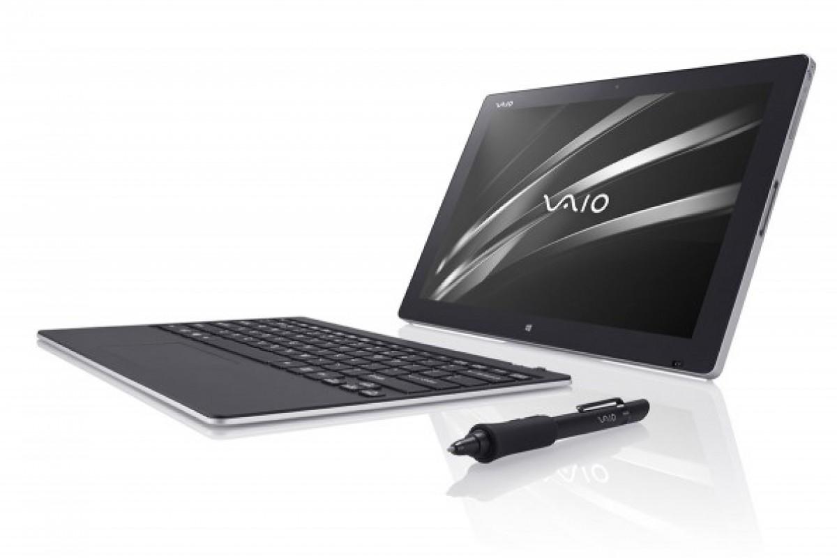 رایانه جدید و تبدیلپذیر Vaio Z Canvas معرفی شد