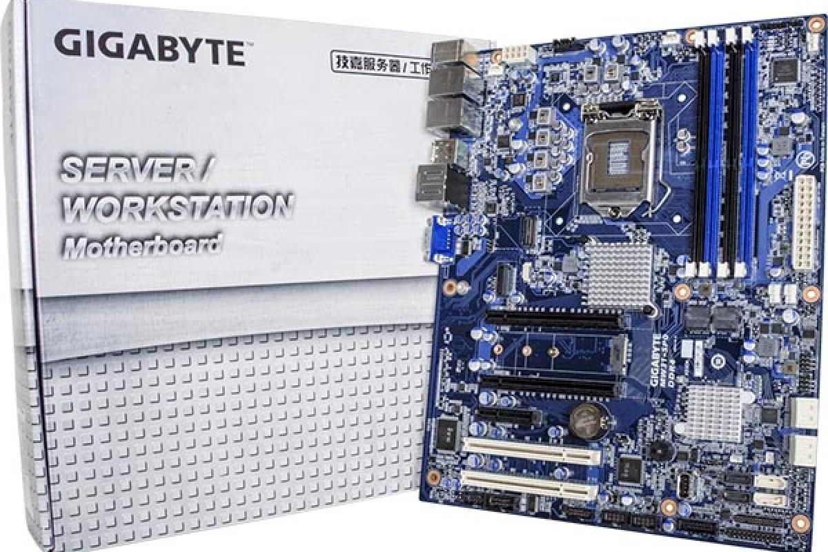 عرضه مادربرد گیگابایت MW31-SP0، با قابلیت پشتیبانی از پردازندههای E3-1200 V5