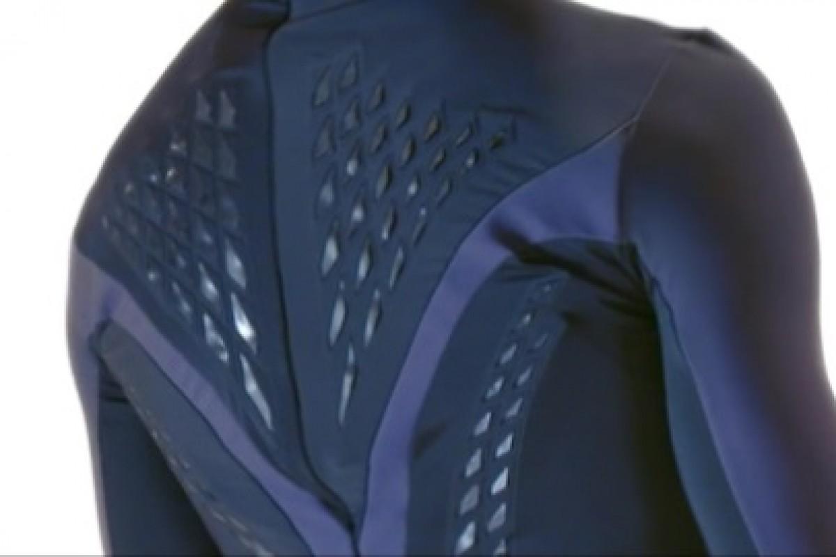 لباس هوشمندی که با عرق کردن، سیستم تهویهاش فعال میشود!