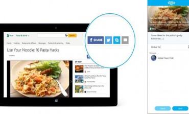 مایکروسافت کلید به اشتراکگذاری محتوا در اسکایپ را ایجاد کرد