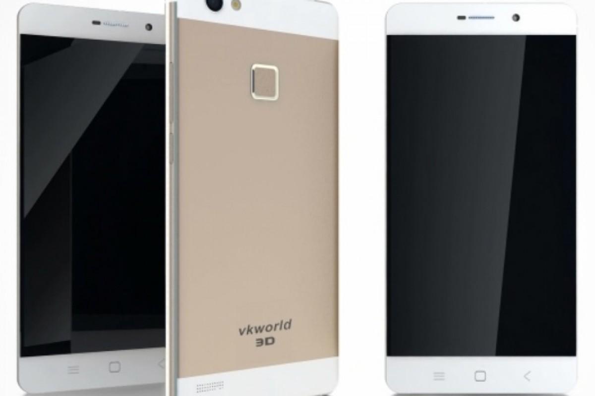 VKWorld از دو گوشی با صفحهنمایش سهبعدی رونمایی کرد