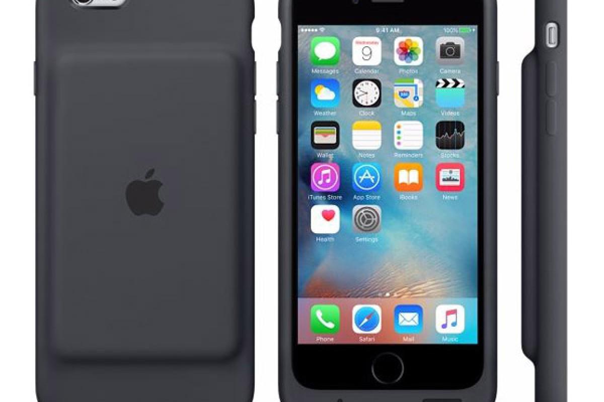 اپل، قاب باتری هوشمند خود را برای آیفون 6 و آیفون 6s معرفی کرد
