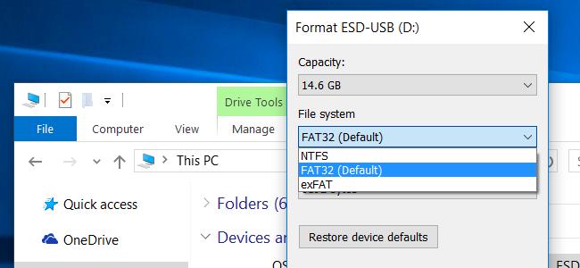 FAT32-NTFS-exFAT