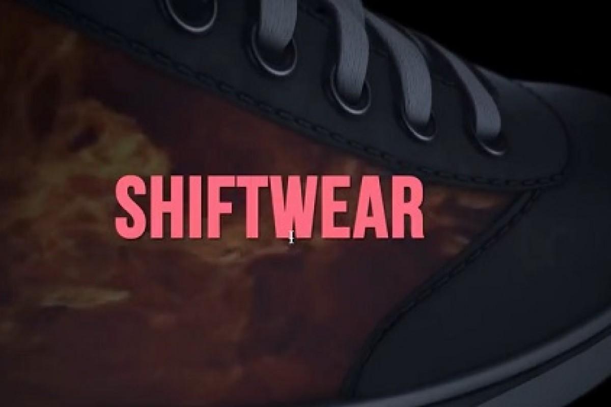 ShiftWear، یک کفش کتانی هوشمند با قابلیت تغییر شکل!