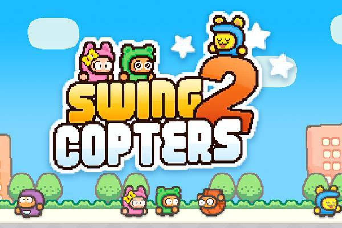 سازنده بازی Flappy Bird بازگشت؛ Swing Copters 2 یک بازی سخت و جذاب!