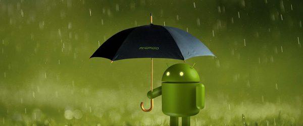 android-rain