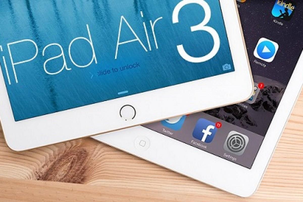 آیپد ایر 3 بدون تجهیز به 3D Touch نیمه اول 2016 عرضه خواهد شد!