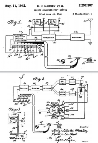 FHSS-patent-drawing-from-1942