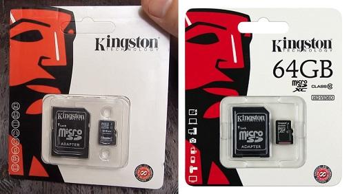 Fake-64GB-Kingston-microSD-card-packaging