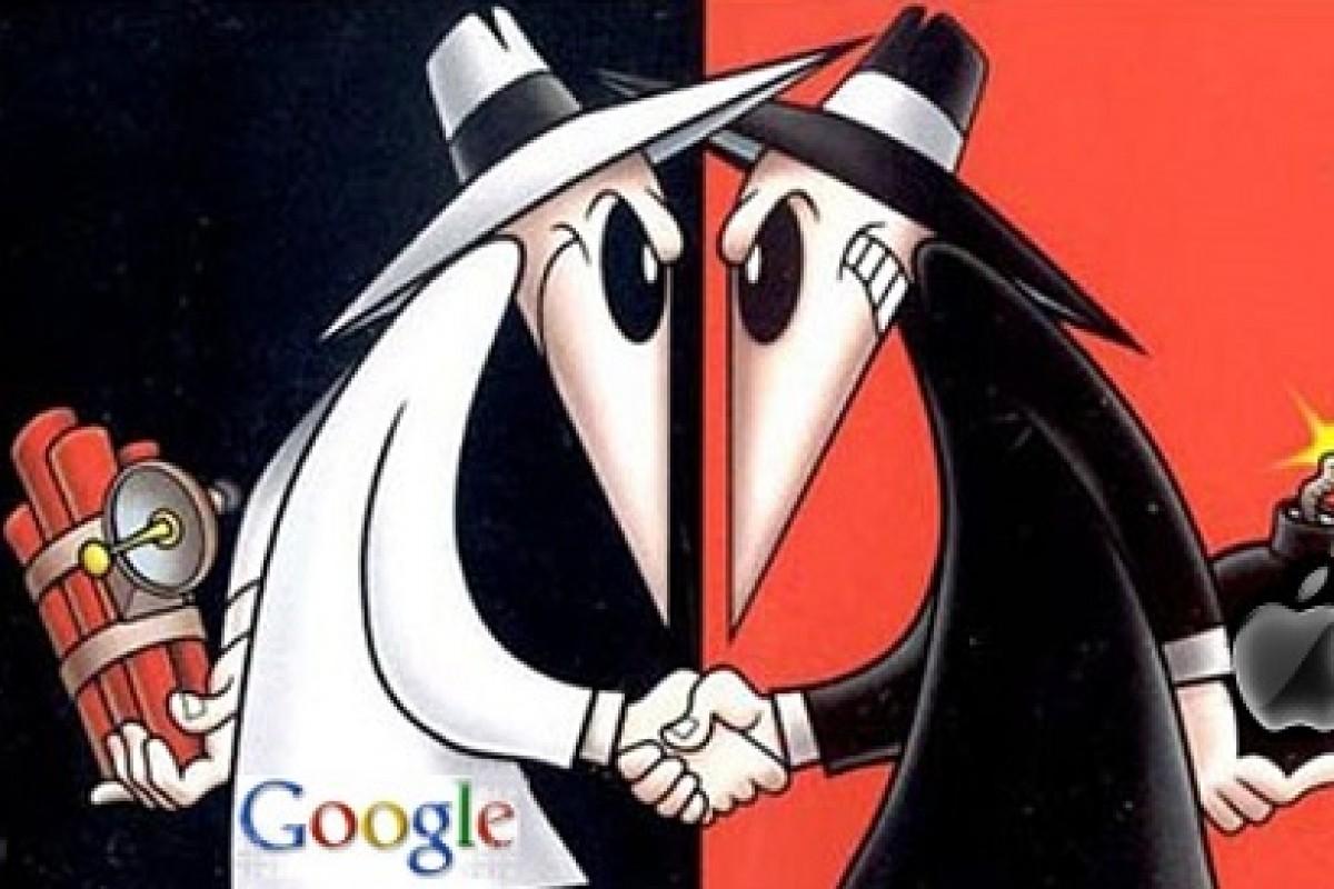 آیا گوگل در ارزش کلی بازار از اپل پیشی خواهد گرفت؟!