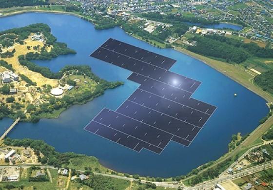 با بزرگترین مزرعه خورشیدی شناور جهان آشنا شوید