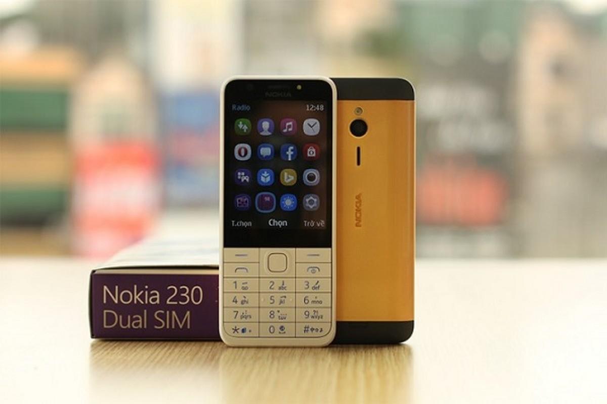 نوکیا 230 در پوششی از طلای 24 عیار فقط 125 دلار