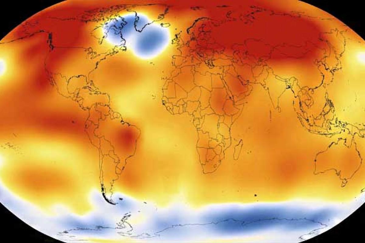 سال 2015 به عنوان داغترین سال تاریخ بشر ثبت شد!