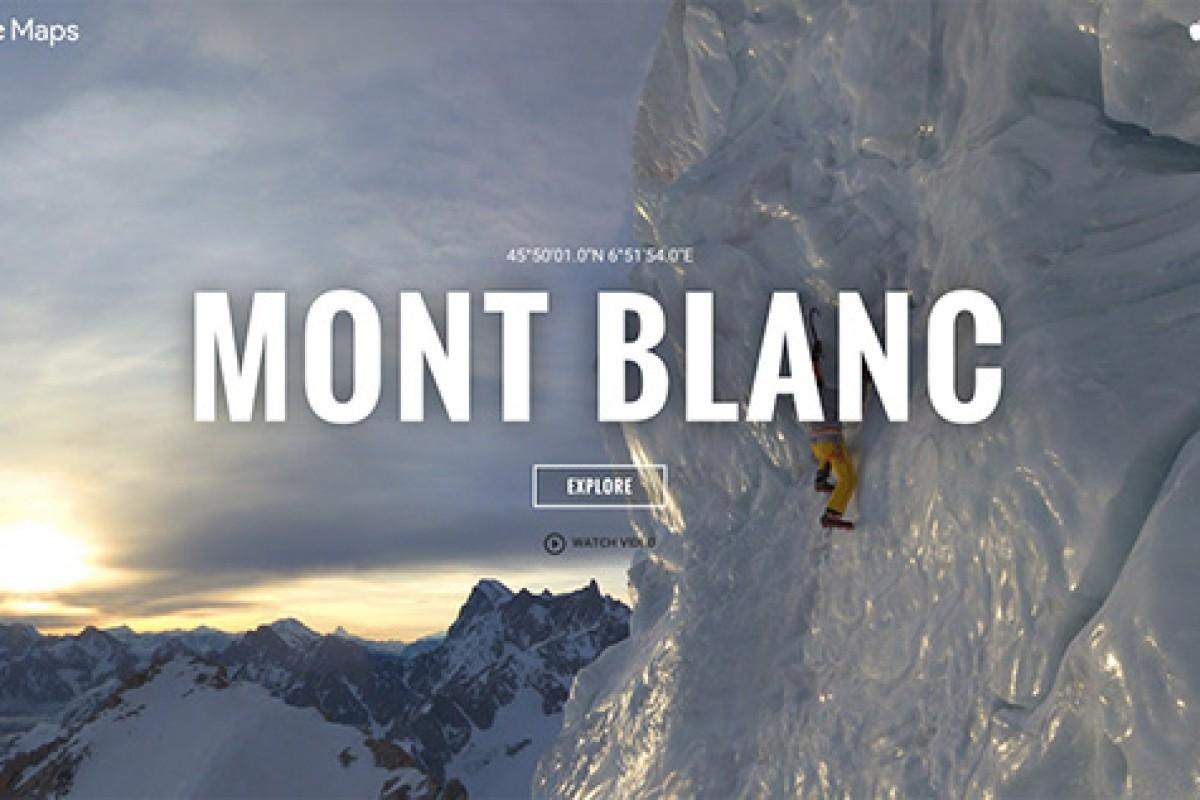 با کمک نمای خیابانی گوگل بلندترین قلههای جهان را فتح کنید