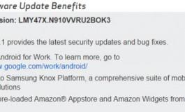 گلکسی نوت 4 بالاخره اندروید 5.1.1 را دریافت کرد!