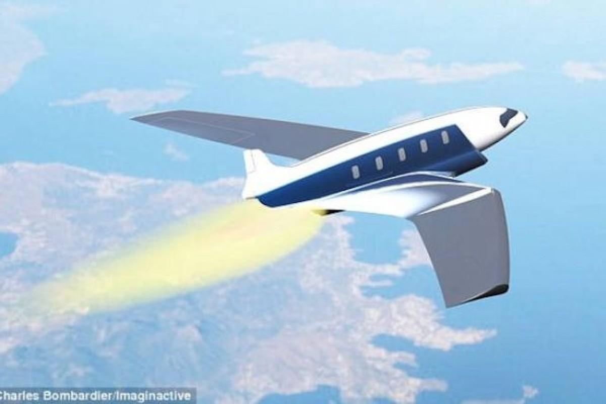 با این هواپیما مسافت بین نیویورک تا لندن را فقط در ۱۱ دقیقه طی کنید!