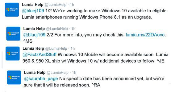update to Windows 10 Mobile