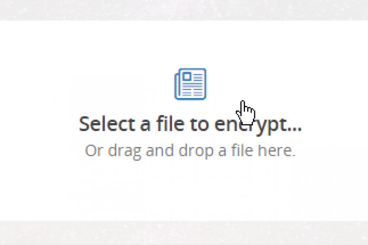 آموزش رمزگذاری فایلها از طریق مرورگر وب