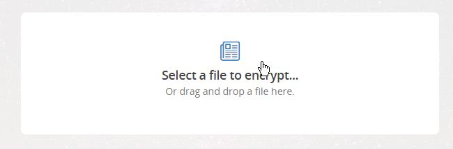 رمزگذاری فایلها از طریق مرورگر